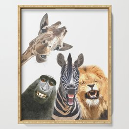 Jungle Animal Friends Serving Tray