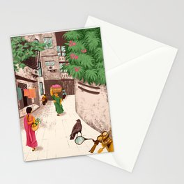 Beautiful Indian ladies Stationery Cards