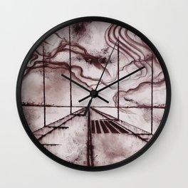 I don;t like crossings Wall Clock