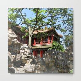 Forbidden City Gardens House  Metal Print
