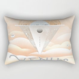 NASA Visions of the Future - Venus: See you at the Cloud 9 Observatory Rectangular Pillow