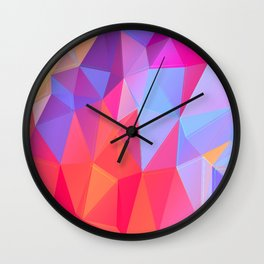 Vertices 8 Wall Clock
