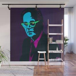"""B.F. Skinner"" Portrait Wall Mural"